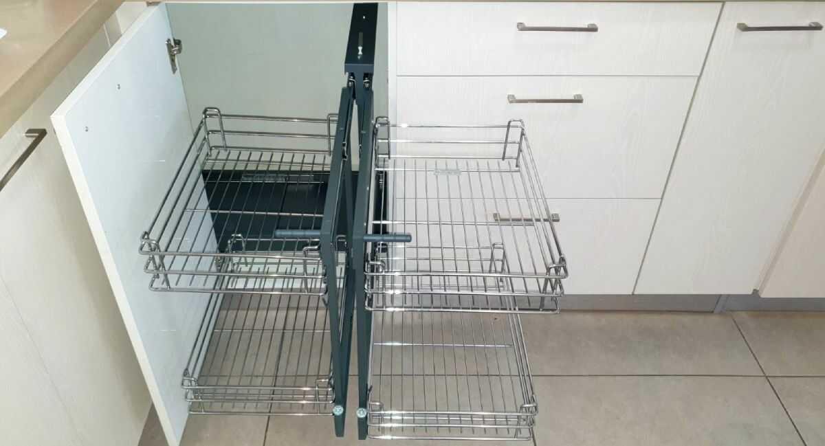 מג`יק קורנר - פתרון לארון הפינה במטבח